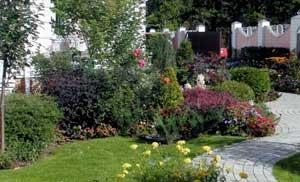 Сад в стиле барокко.